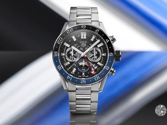 GMT en reloj Carrera TAG Heuer