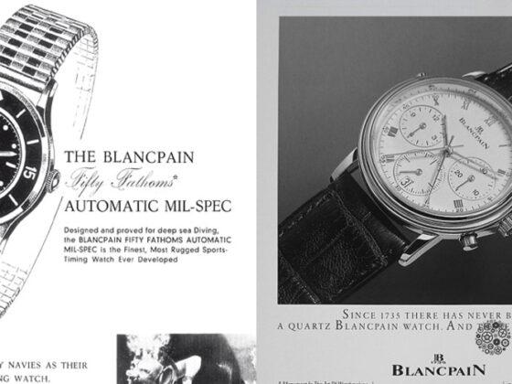 Blancpain la marca más antigua