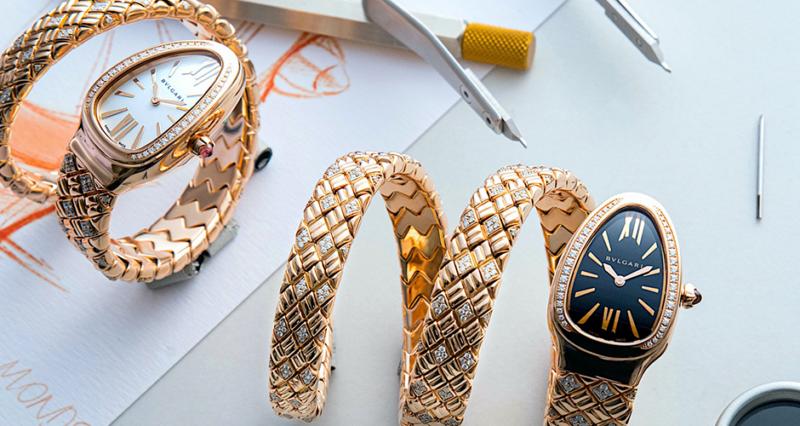 5 relojes para ellas de Bvlgari