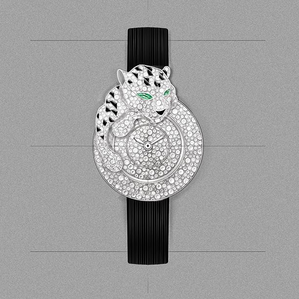 Cartier una marca de lujo, RELOJ PANTHÈRE