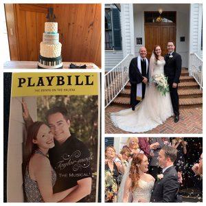 Broadway Themed Wedding