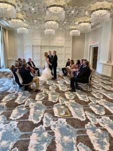 A Wedding Fit for the Queen's Ballroom