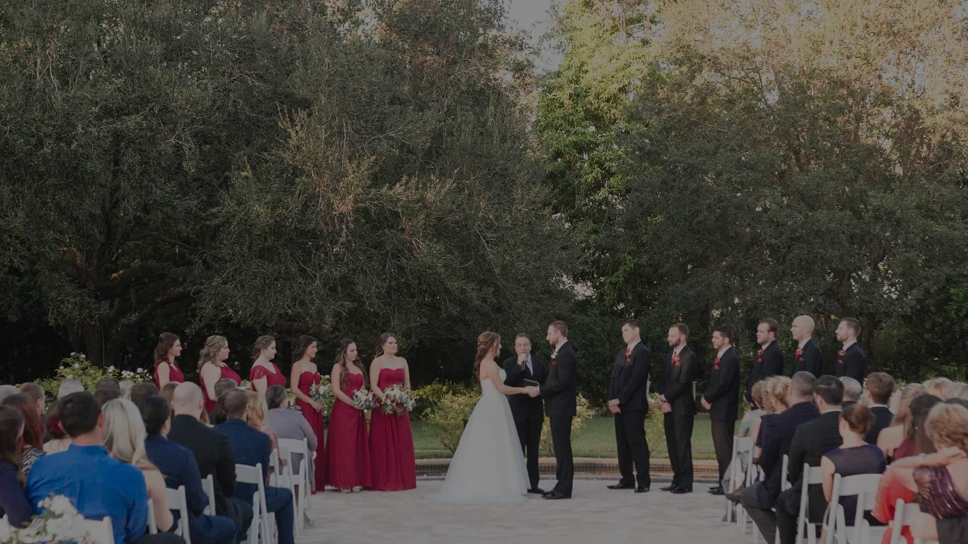 Harry P Leu Gardens - Sensational Ceremonies