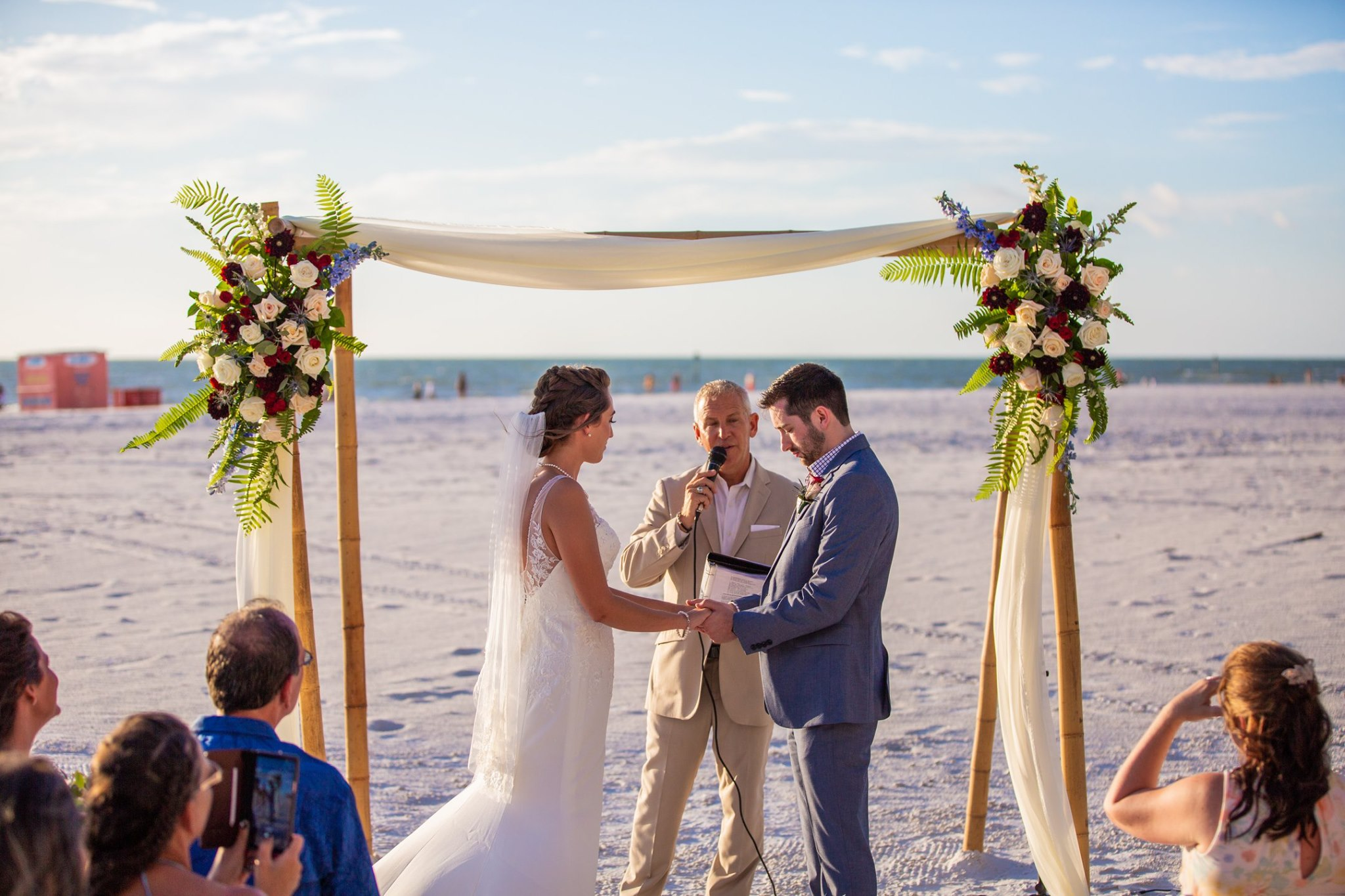 SC Officiant Rick Lackore Hilton Clearwater Beach Wedding