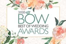 2020 Best Of Weddings Orlando Magazine awards