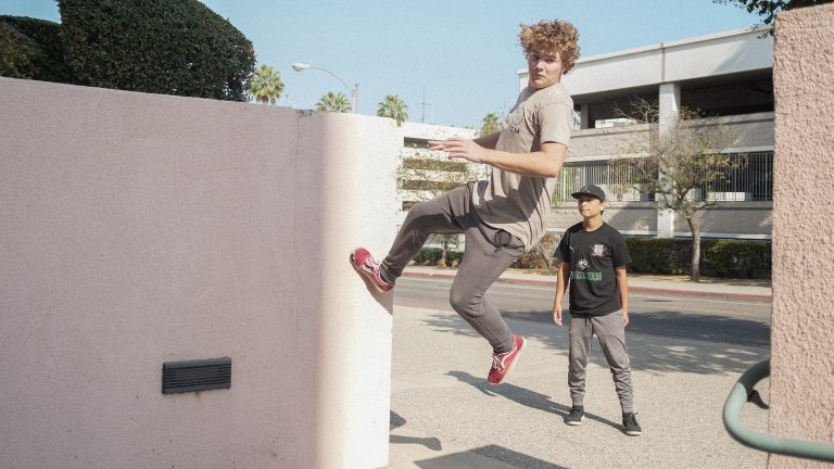 the collective movements parkour training fitness class