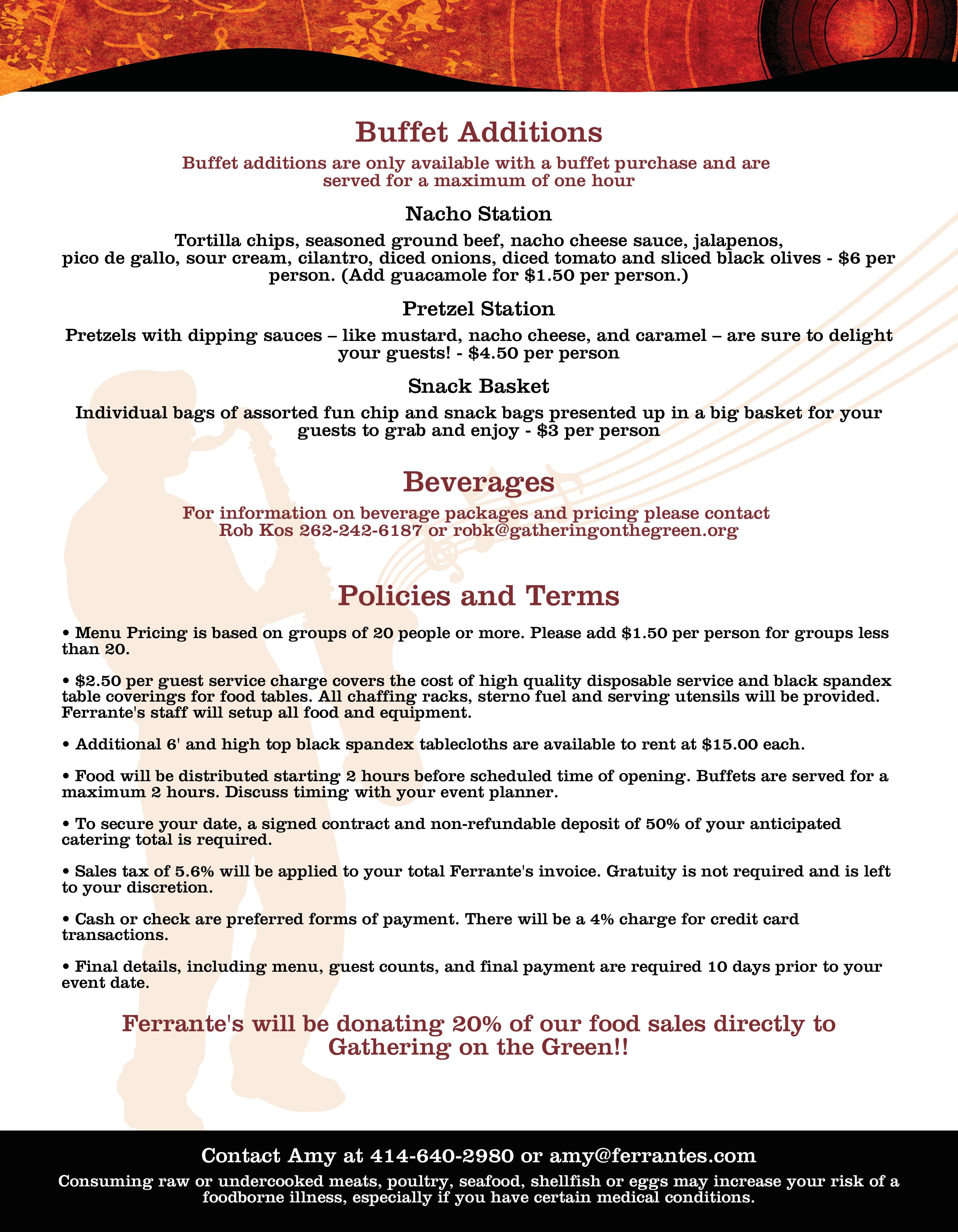 Ferrantes party tent catering – 2019-page-003