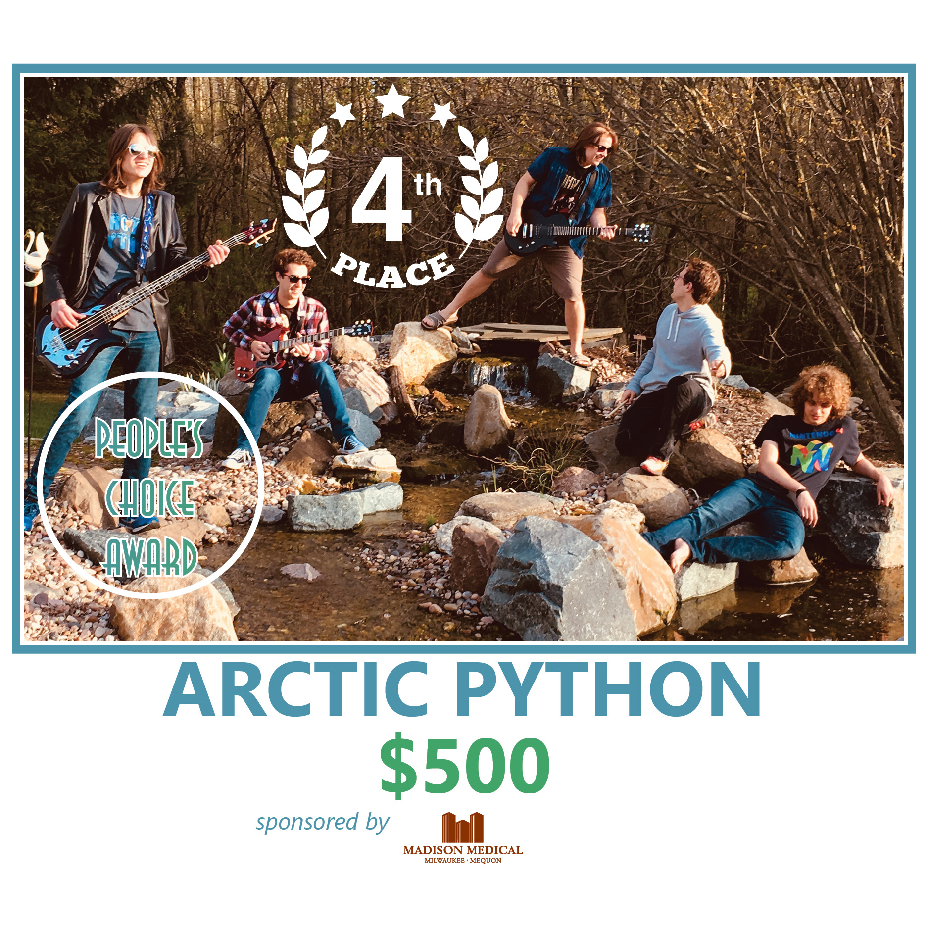 2019 BOTB Winners_Arctic Python_GatheringontheGreen