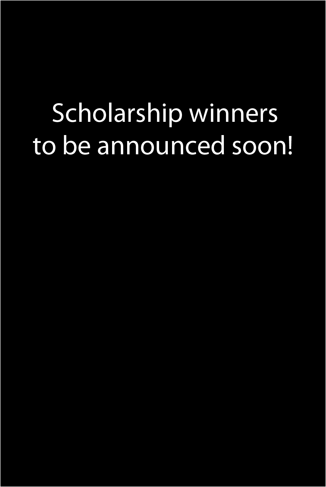 Scholarship announce last