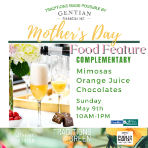 May Traditions_Mother's Day_Gathering on the Green_Food & Beverage