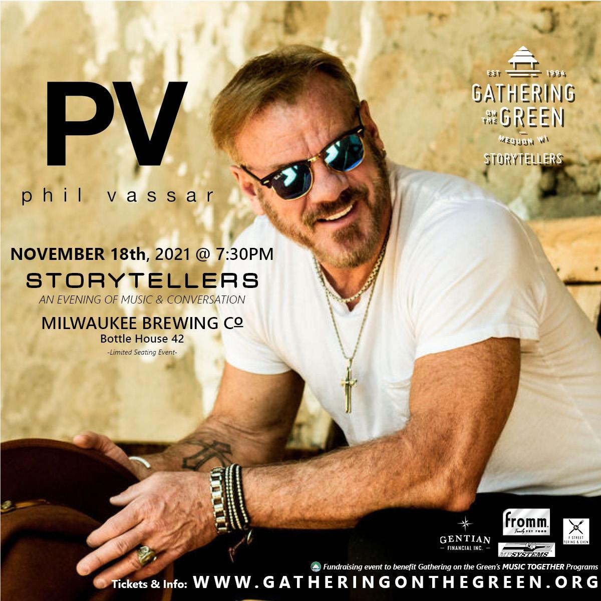 Phil Vassar_4x4_Gathering on the Green_Storytellers_2021_November