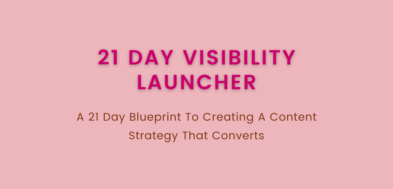 21 Day Visibility Launcher (1)