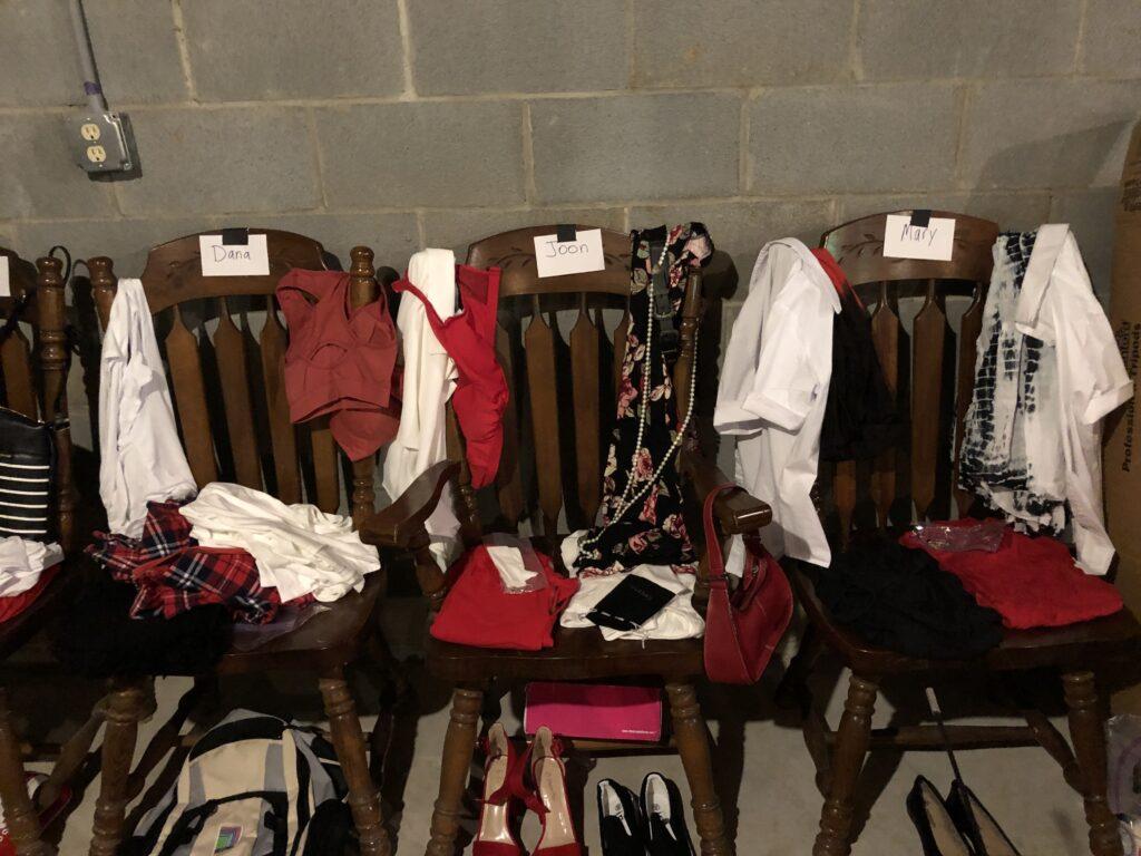 Judy's wardrobe department