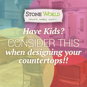 Considerations when designing your countertops