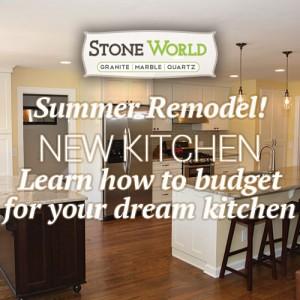 Summer time - New Kitchen Remodel - Stone World TN