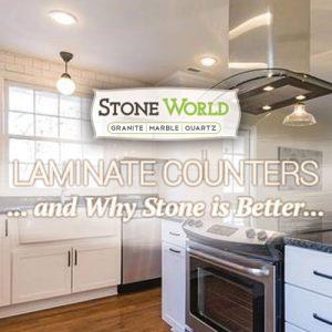 Laminate vs Stone Countertops