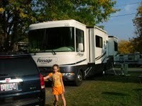 RV In Timothy Lake North