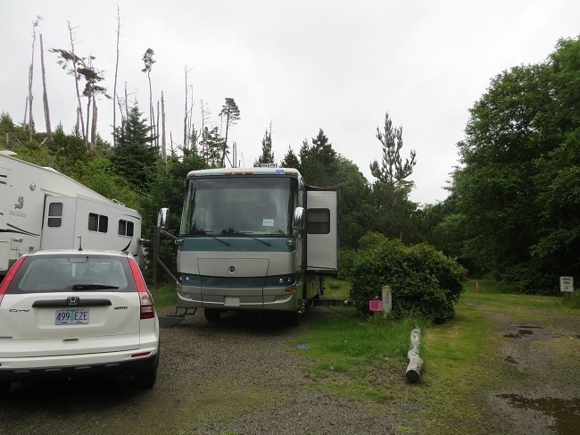 Our camp in Loop D. One of roughly 26 sewer sites remaining.