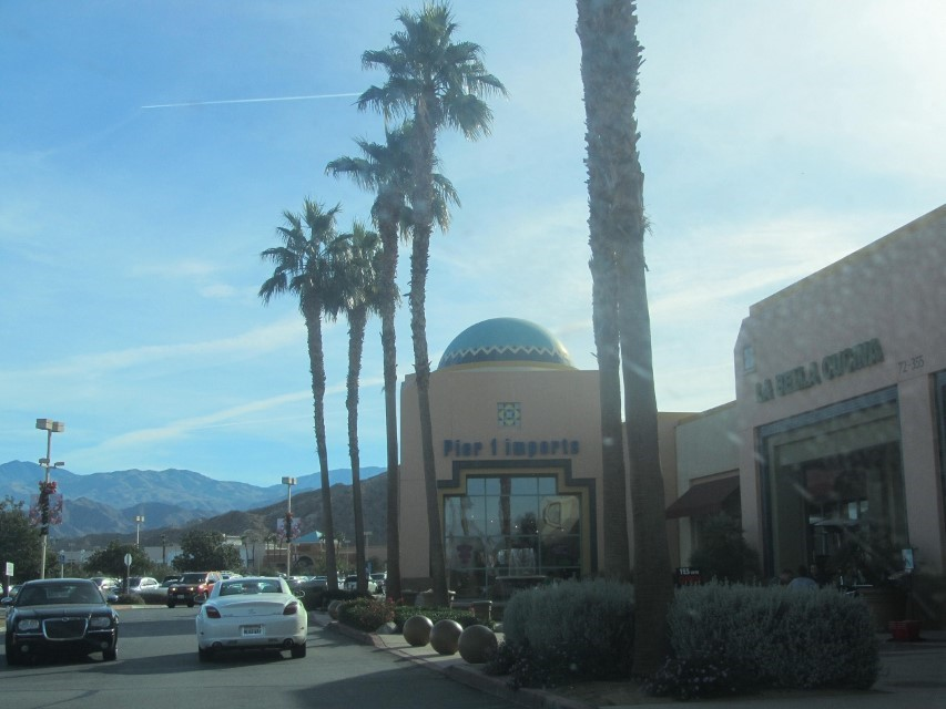 Behind West field mall in Palm Dessert they make the stores with domes.