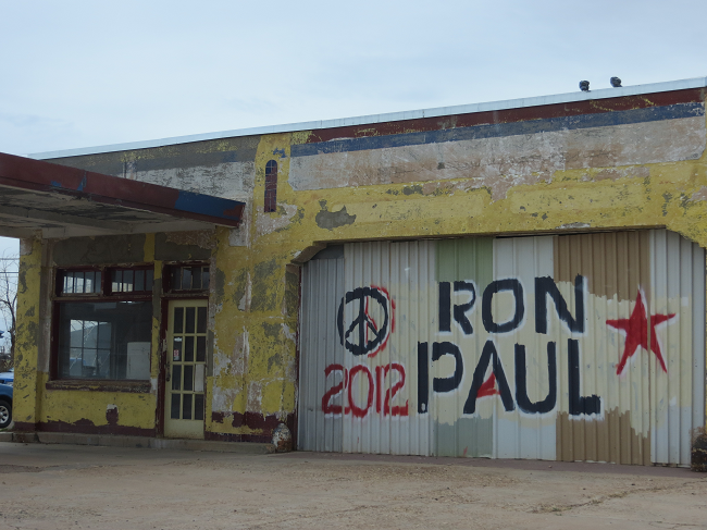 Ron Paul and the hippie movement, somehow I missed that connection