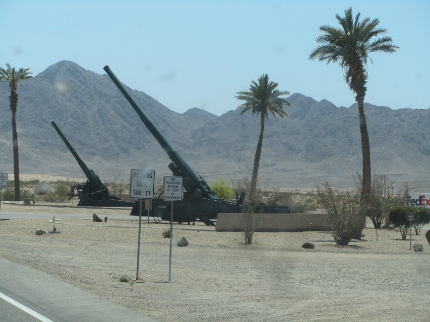 Where the Yuma Army veterans (the soldiers who have difficult personalities.) are tired of the younger set flying around in their toy flying machines.