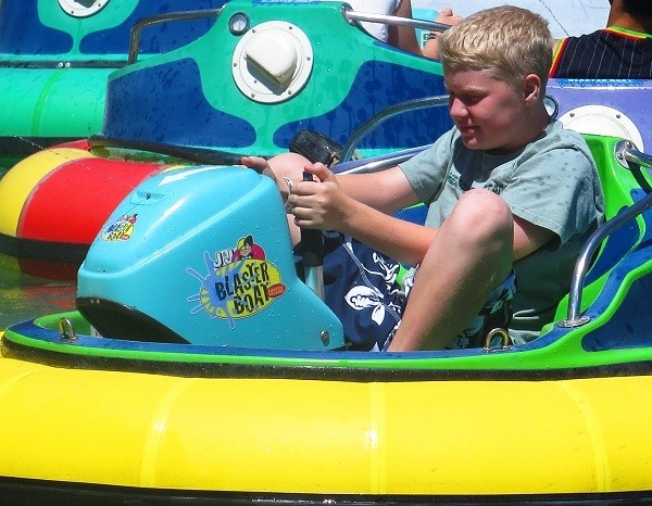 If determination is a disease, Seth is now incurable. The Water Park Silverwood's water park has plenty of attractions, and that is where my family and friends spent the bulk of the day.