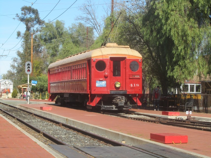 This is trolley they are doing rides on today.