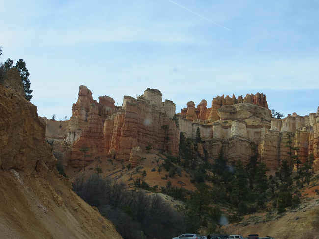 Cool view-point east of Bryce on hwy 12