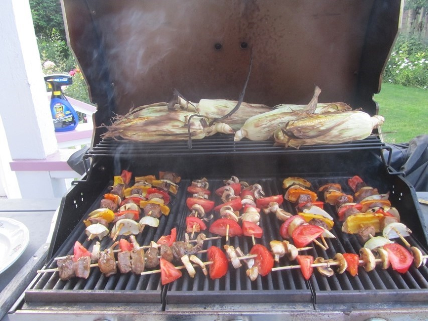 The next day, Ron made his world famous Kabobs. We were not disappointed.