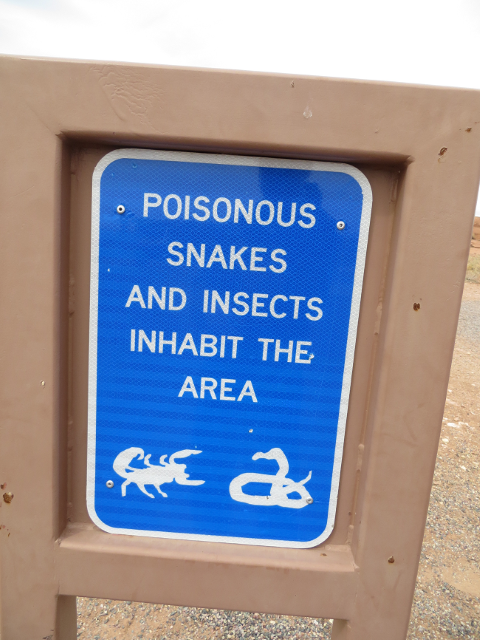 We stopped at a rest area and found this sign.