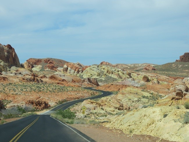 The rocks are yellow, that's cool. Better than yellow snow