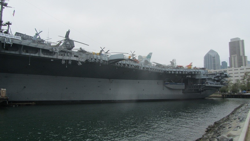 The Midway Ship and museum