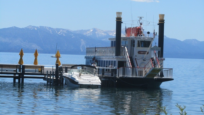 The Tahoe Gal. We want to take the kids on one of these boats here in Tahoe.