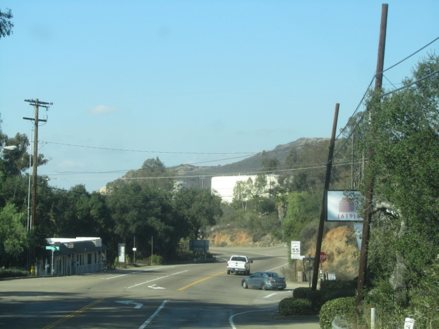Had to drive to Jamul to get our mail. It is about 10 miles from camp.