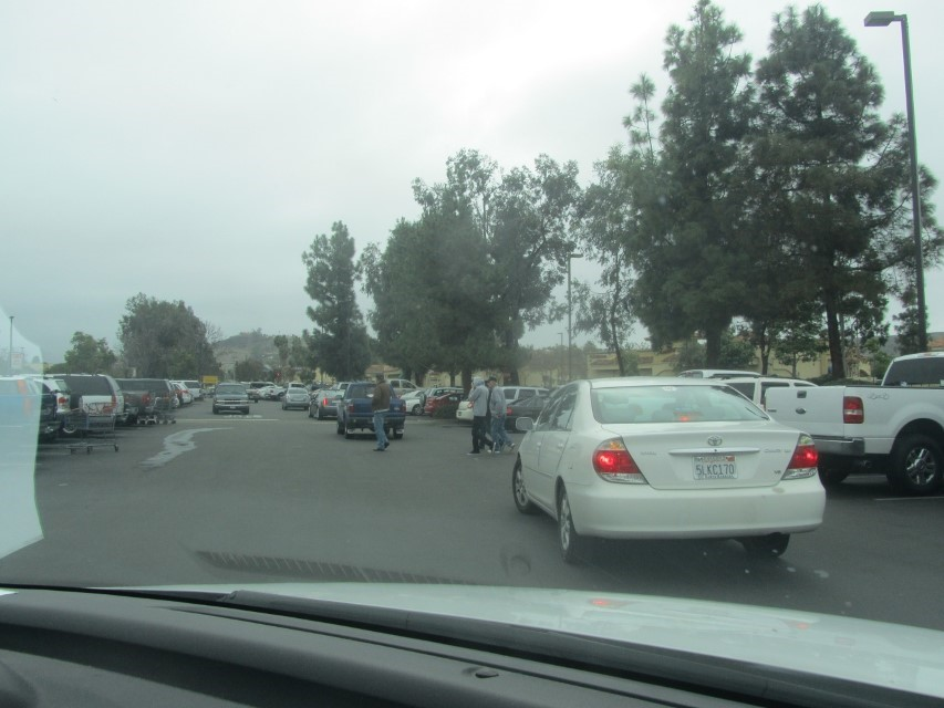 am thinking, Fox News defines a recession differently than the rest of us. After four loops through the parking lot, and watching these Californians fight over parking spaces. We concluded Coscto was not worth the effort.  These people are nuts!