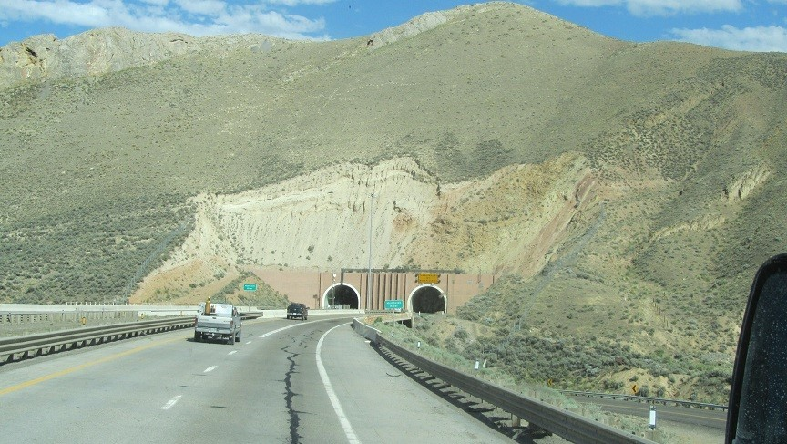 Cool tunnels east bound 80