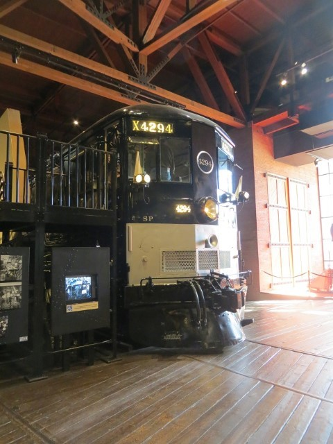 Some of the cars and locomotives can be entered, and all had knowledgeable enthusiast on board hired to tell us about the equipment and the stories that might have went with it.