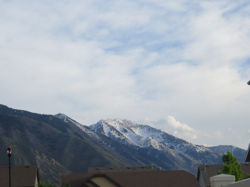 View of another mountain in Spanish Forks
