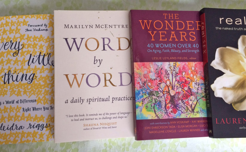 Books at the Festival of Faith and Writing