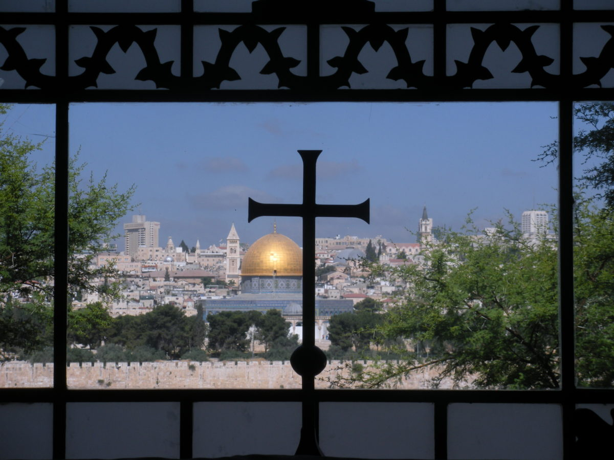 The View of Jerusalem from the Mount of Olives: Visiting Gethsemane