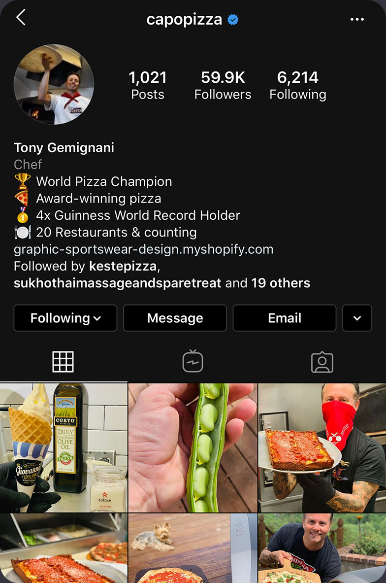 Capo Pizza screenshot
