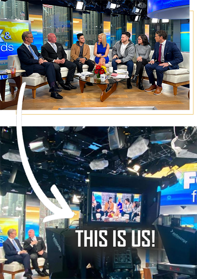 Fox and Friends show with frame small