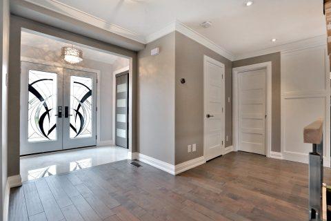 Main Floor Home Renovation - Entry