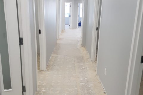 Commercial construction projects - Remax Hamilton Office Renovation - Hall