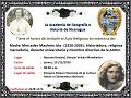 Acto religioso in memorian de madre Mercedes Mauleón Isla