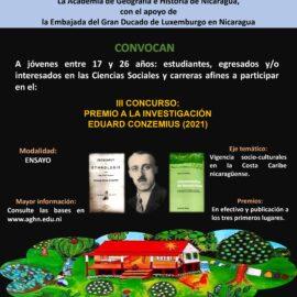 III Concurso Eduard Conzemuis