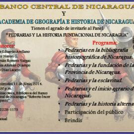 Panel: Pedrarias y la historia fundacional de Nicaragua