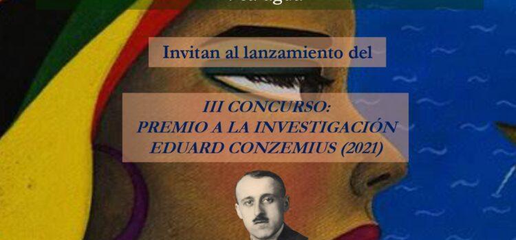 Lanzamiento del III Concurso: «Premio a la investigación Eduard Conzemius»