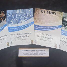 AGHN recibe de ALMA colección  bibliográfica en torno al Bicentenario