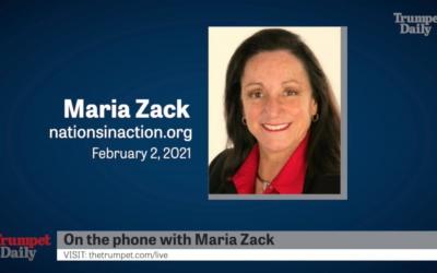 TrumpetDaily interviews Maria Strollo Zack